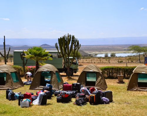 campement trail kenya