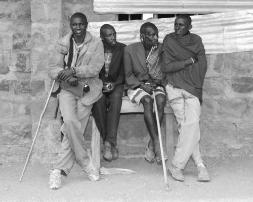hommes kenya
