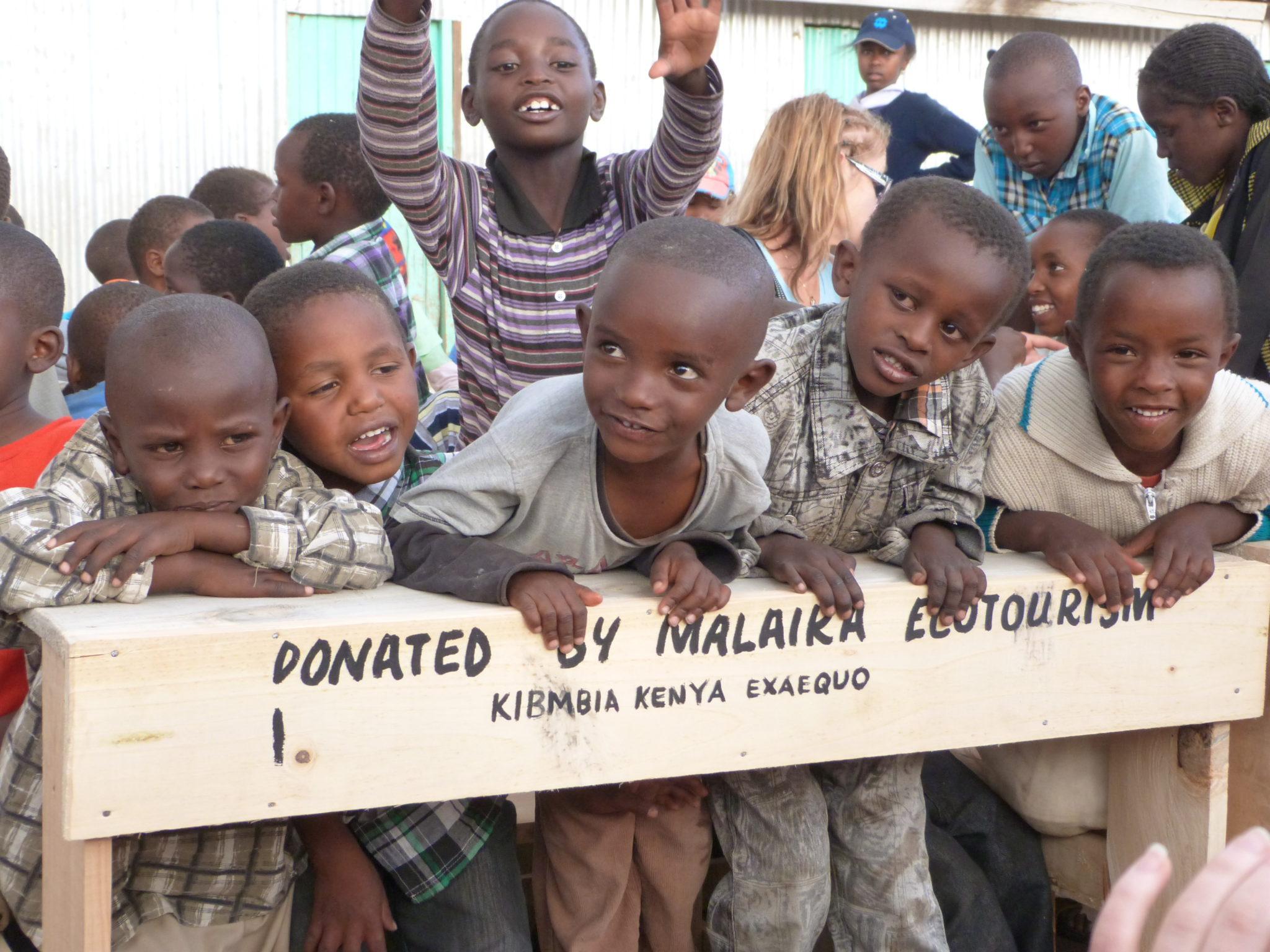 Soutenez les écoliers kényans !
