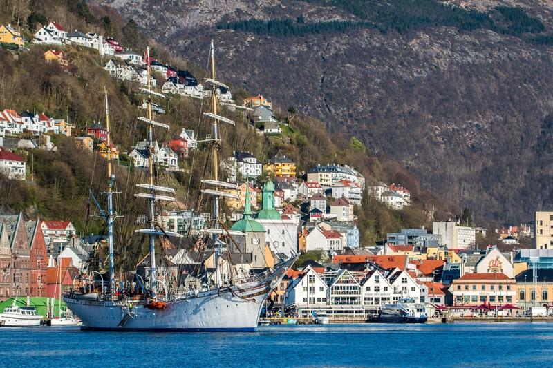 Bergen, la ville aux sept collines