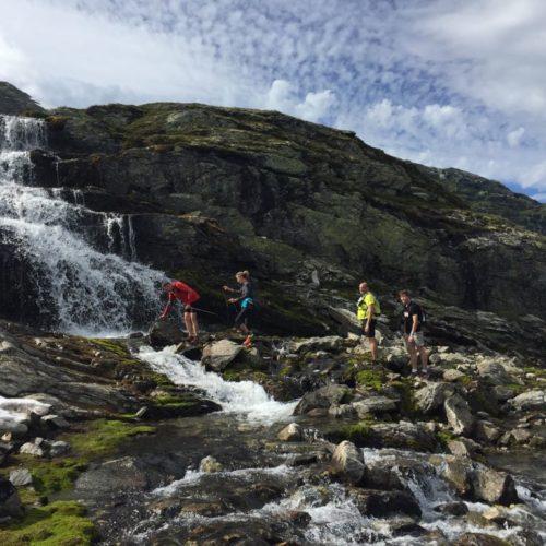 cascade montagne trail