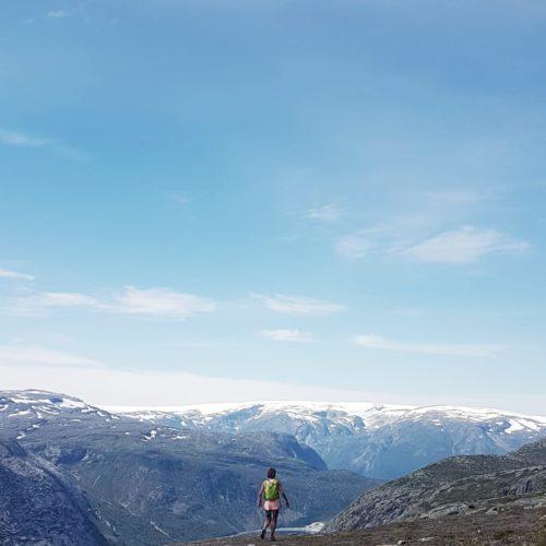 trail montagne irlande