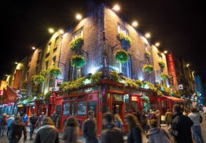 temple bar irlande noel