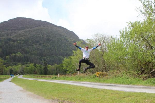 trail irlande course