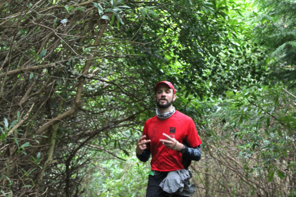 trail irlande course