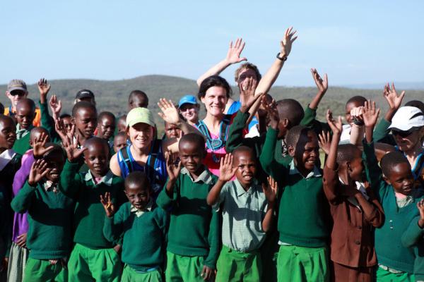 enfants trail kenya