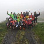 course équipe pluie