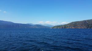 paysages lac montagne