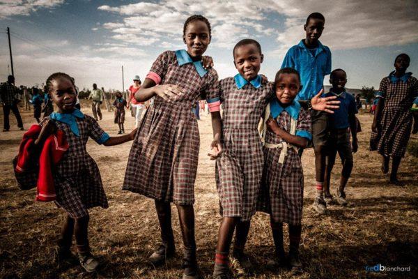 enfants kenyans école