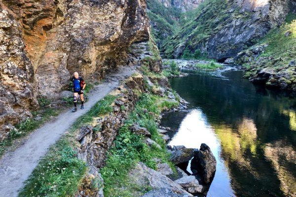 trail montagne course