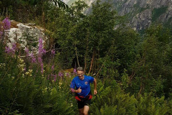 trail norvège montagne