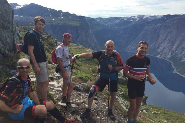 trail norvège course