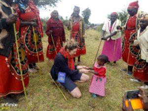 enfants kenyans kimbia kenya trail