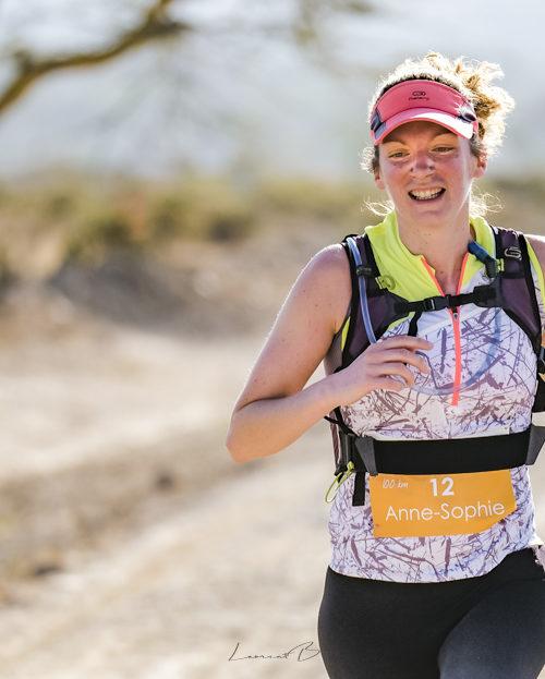 Anne Sophie kimbia kenya trail