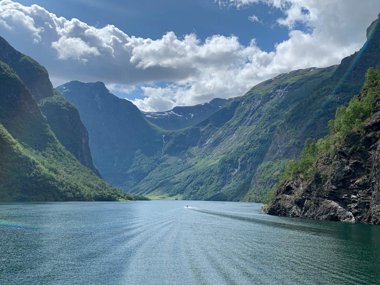 Fjord Norvège Trail 50k 100k ultra trail naeroyfjord