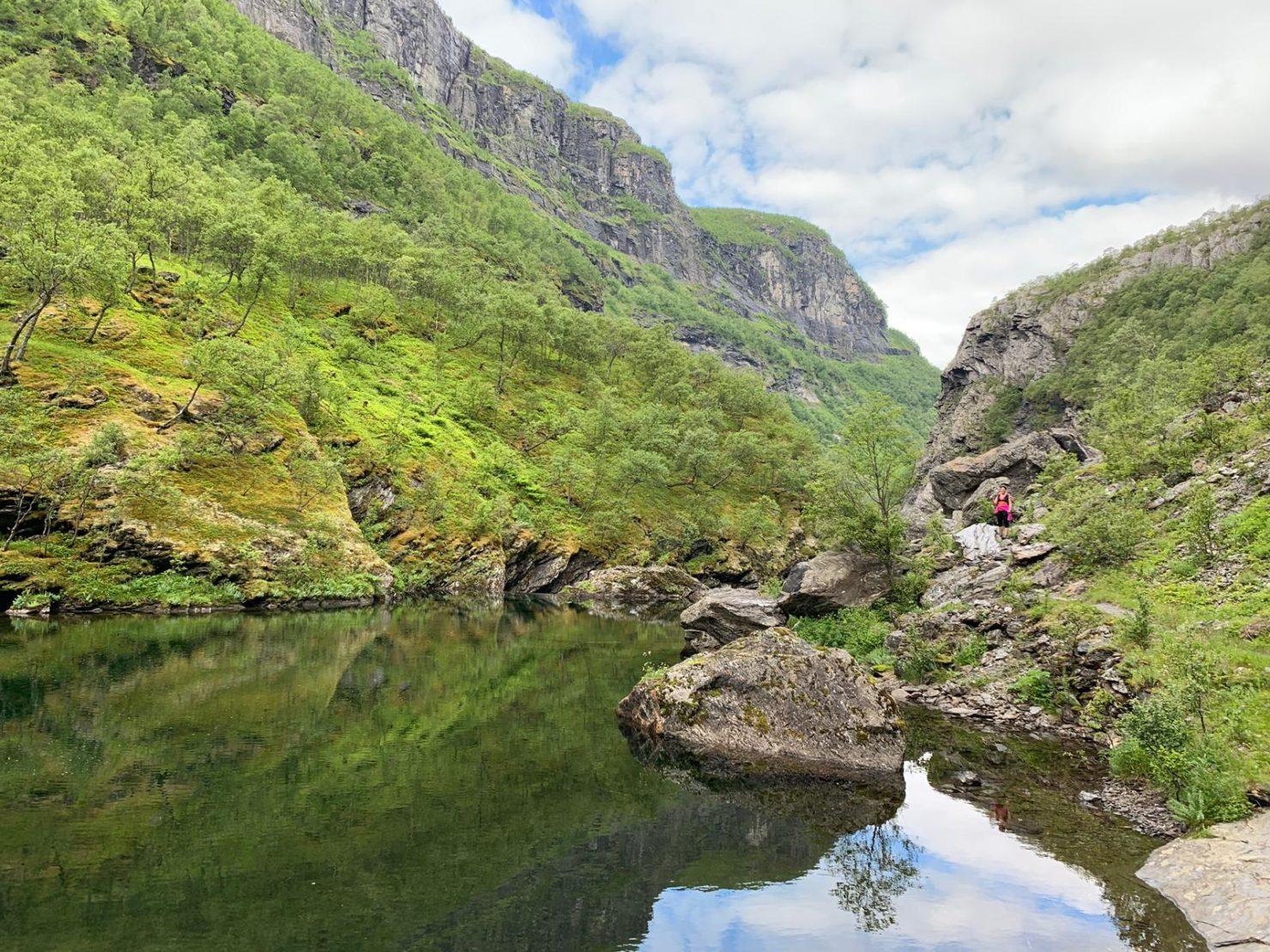 Aurlandalsen trail norvège fjord séjour voyages