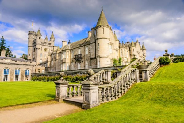 Balmoral Castle has been a Royal residence since 1852 and, situated on the south side of the River Dee, near the village of Crathie.