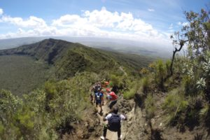 Kimbia Kenya Mont Longonot